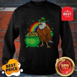 American Bald Eagle Leprechaun Funny St Patricks Day Sweatshirt