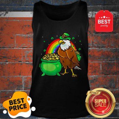 American Bald Eagle Leprechaun Funny St Patricks Day Tank Top