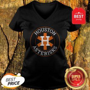 Official Houston Asterisks Astros Cheaters V-neck