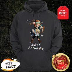 Best Friends Monkey D. Luffy Roronoa Zoro Sanji One Piece Hoodie