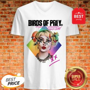 Birds Of Prey DC And The Fantabulous Emancipation Of One Harley Quinn V-neck