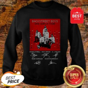 BSB Backstreet Boys DNA World Tour Signatures Sweatshirt