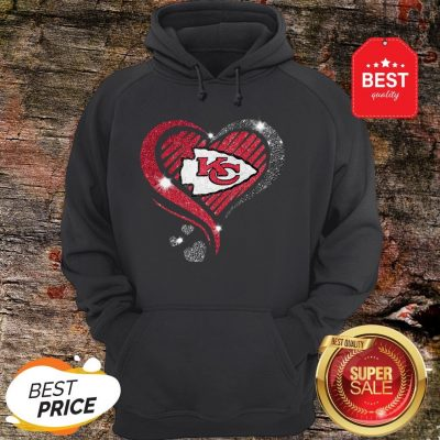 Diamond Heart Love Kansas City Chiefs Super Bowl Champions Hoodie