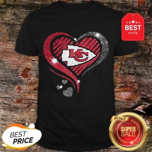 Diamond Heart Love Kansas City Chiefs Super Bowl Champions Shirt