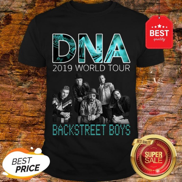 DNA 2019 World Tour Concert Backstreet Boys Shirt
