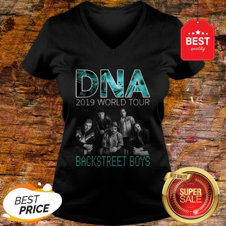 DNA 2019 World Tour Concert Backstreet Boys V-neck