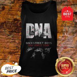 DNA Backstreet Boys DNA World Tour Signatures Autographed Tank Top