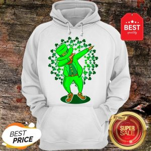Funny St Patricks Day Dabbing Leprechaun Dab Dance Green Hoodie