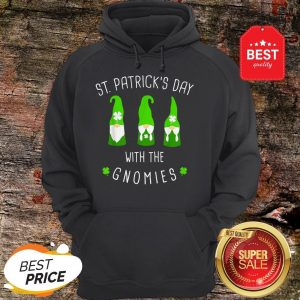 Funny St Patricks Day Gnome Design For Irish Gnome Lovers Hoodie
