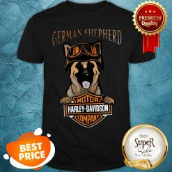 German Shepherd Mashup Motor Harley Davidson Company Shirt