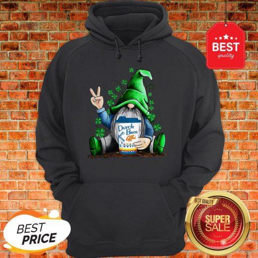 Gnome Hug Dutch Bros Coffee Irish St. Patrick's Day Hoodie
