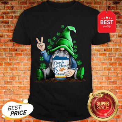 Gnome Hug Dutch Bros Coffee Irish St. Patrick's Day Shirt