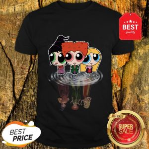 Hocus Pocus Characters Chibi Reflection Water Mirror Disney Shirt