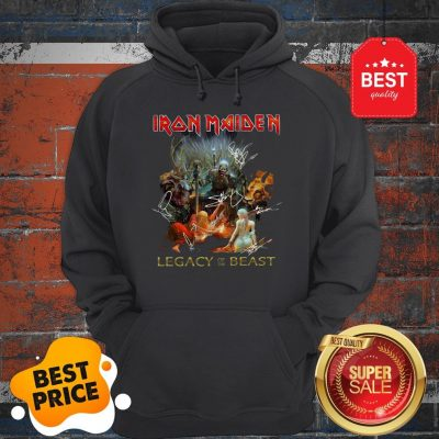 Iron Maiden Mashup Legacy Of The Beast Signatures Hoodie
