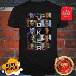 Joker Versions Signatures The Gangster The Comedian The Joker Shirt