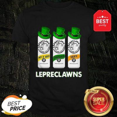 Lepreclawns Pot O' Gold Shamrock Lucky St Patrick's Day Shirt
