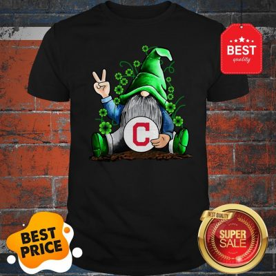 MLB Gnomes Lucky Hug Cleveland Indians Baseball Shirt