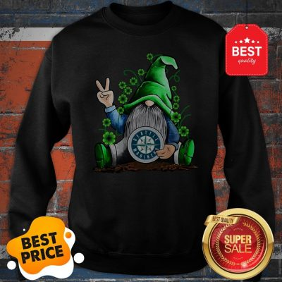 MLB Gnomes Lucky Hug Seattle Mariners Baseball Sweatshirt