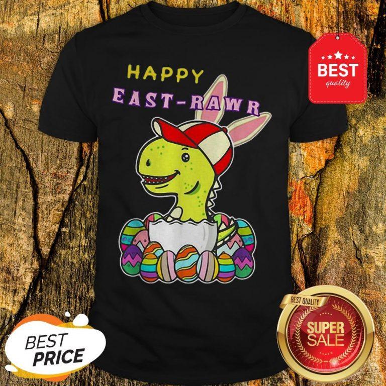 Nice Dinosaur Boy Happy East-Rawr Shirt