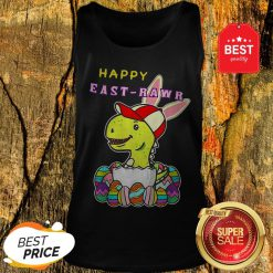 Nice Dinosaur Boy Happy East-Rawr Tank Top