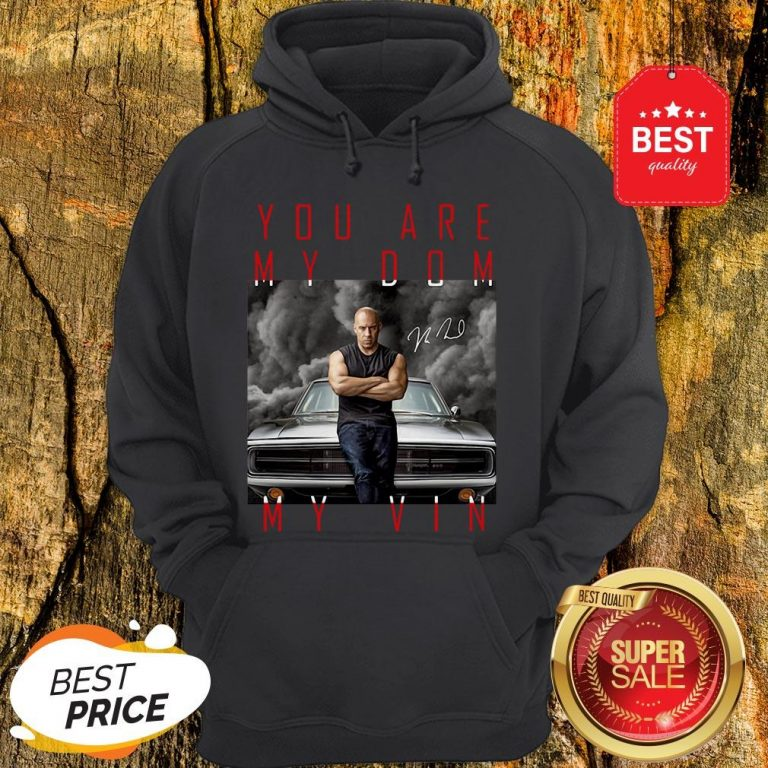 Nice Dominic Toretto You Are My Dom My Vin Signature Hoodie