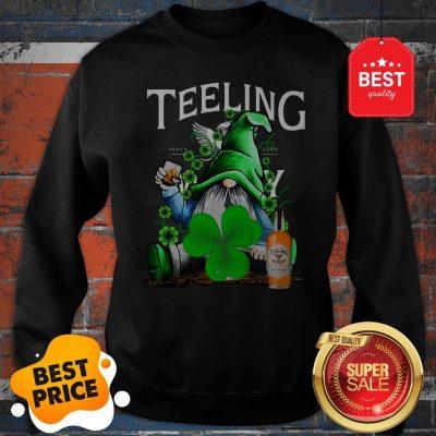 Nice Gnome Drinking Teeling Whiskey St Paddy's Day Sweatshirt