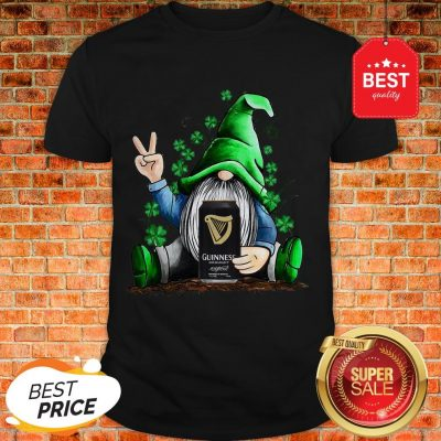 Nice Gnome Hug Guinness Irish St. Patrick's Day Shirt