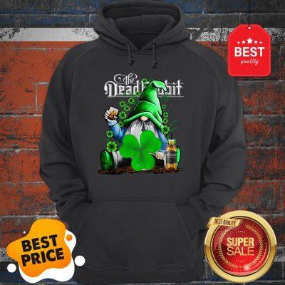 Nice Gnome The Dead Rabbit Irish Whiskey St. Patrick's Day Hoodie
