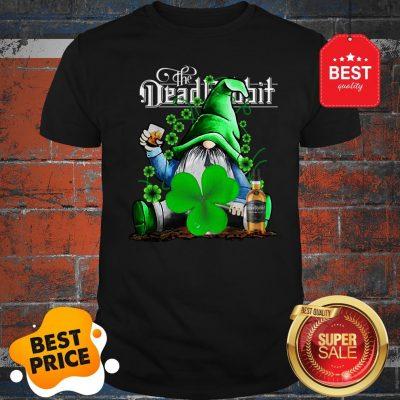 Nice Gnome The Dead Rabbit Irish Whiskey St. Patrick's Day Shirt