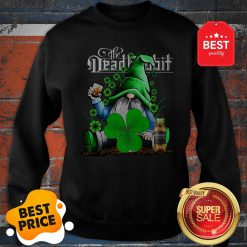 Nice Gnome The Dead Rabbit Irish Whiskey St. Patrick's Day Sweatshirt