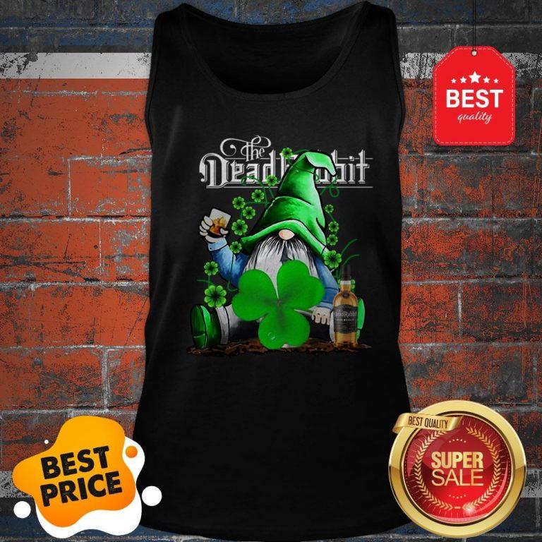 Nice Gnome The Dead Rabbit Irish Whiskey St. Patrick's Day Tank Top