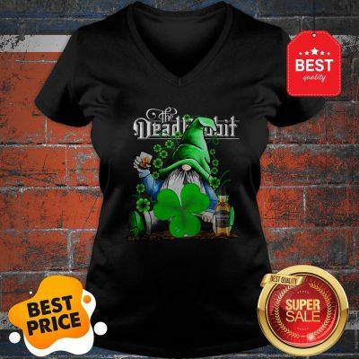Nice Gnome The Dead Rabbit Irish Whiskey St. Patrick's Day V-neck