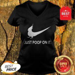 Nice Just Poop On It Nike Parrot V-neck