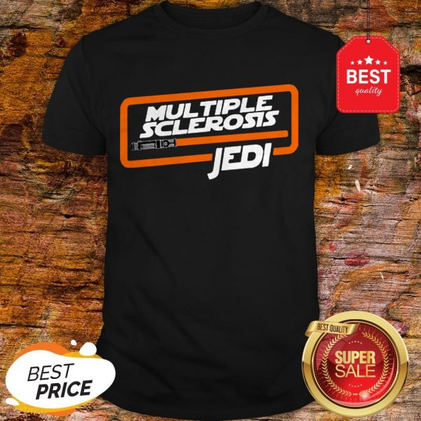 Nice Multiple Sclerosis Jedi Star Wars Shirt