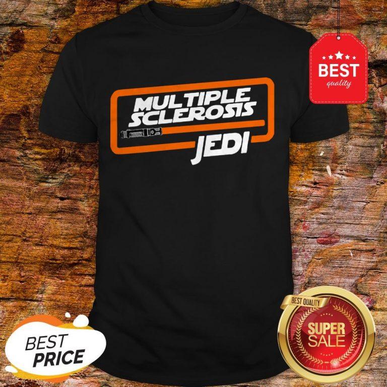 Nice Multiple Sclerosis Jedi Star Wars Shirt
