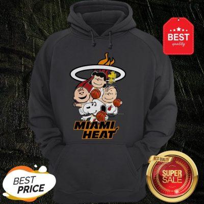 Nice Peanut Characters Mashup Miami Heat Hoodie