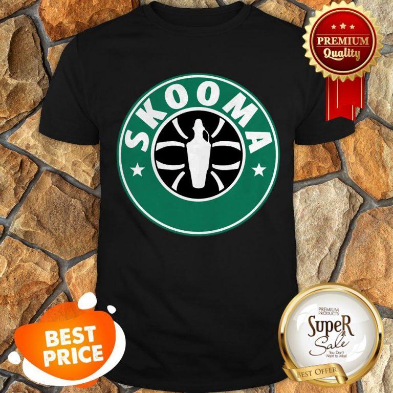Nice Skooma Mashup Starbucks The Elder Scrolls V Skyrim Shirt
