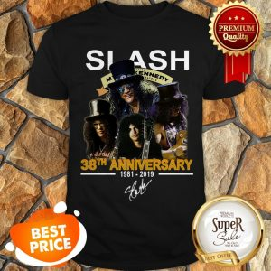 Nice Slash 38th Anniversary 1981 2019 Signature Myles Kennedy Shirt