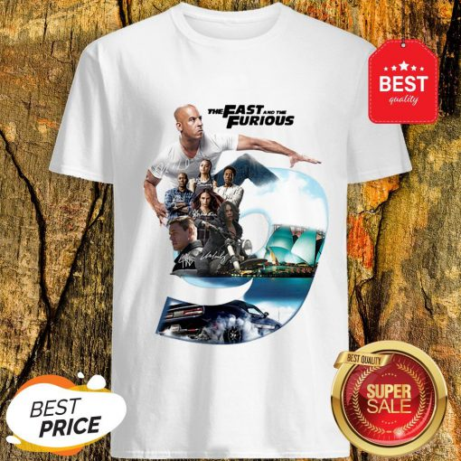 Nice The Fast And The Furious 9 Signatures Shirt