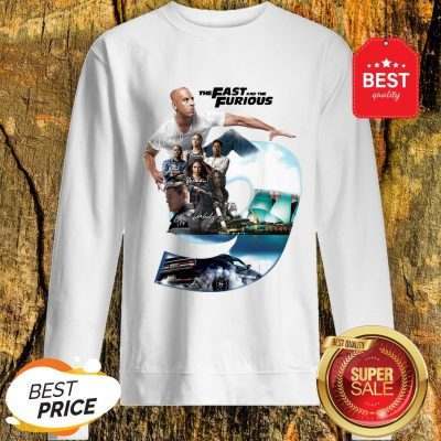 Nice The Fast And The Furious 9 Signatures Sweatshirt