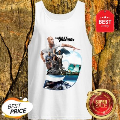 Nice The Fast And The Furious 9 Signatures Tank Top