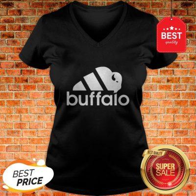 Official Adidas Buffalo Sabres V-neck