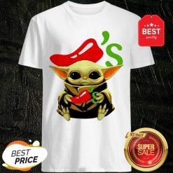 Official Baby Yoda Hug Chili's Star Wars Shirt