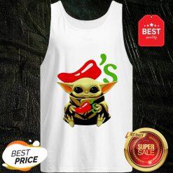Official Baby Yoda Hug Chili's Star Wars Tank Top