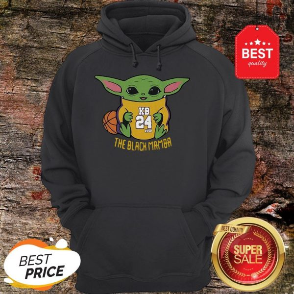 Official Baby Yoda Kobe Bryant The Black Mamba Hoodie