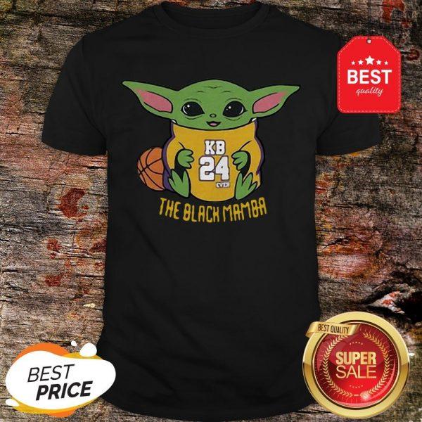 Official Baby Yoda Kobe Bryant The Black Mamba Shirt