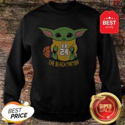 Official Baby Yoda Kobe Bryant The Black Mamba Sweatshirt