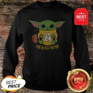 Official Baby Yoda Kobe Bryant The Black Mamba Sweatshirt