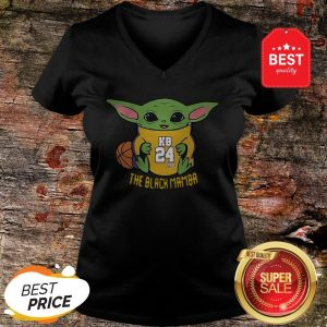 Official Baby Yoda Kobe Bryant The Black Mamba V-neck