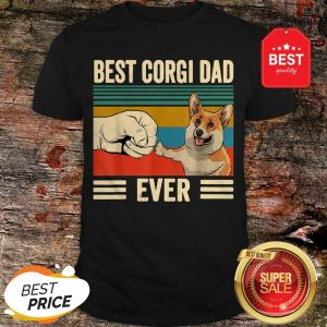 Official Best Corgi Dad Ever Vintage Shirt